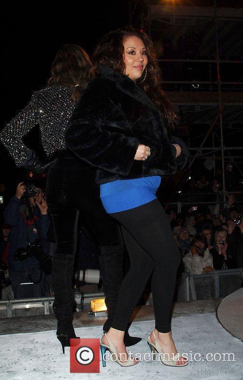 Mutya Buena Celebrity Big Brother final Borehamwood, England