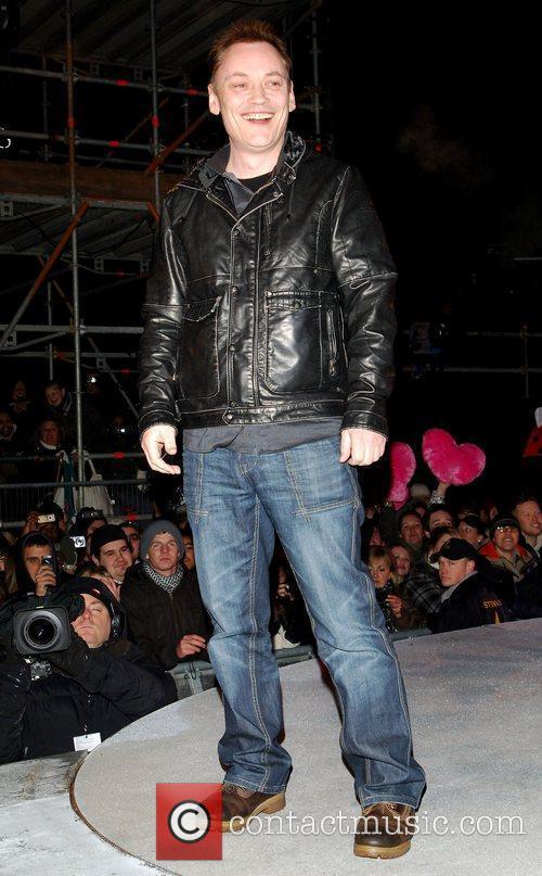 Terry Christian Celebrity Big Brother final Borehamwood, England