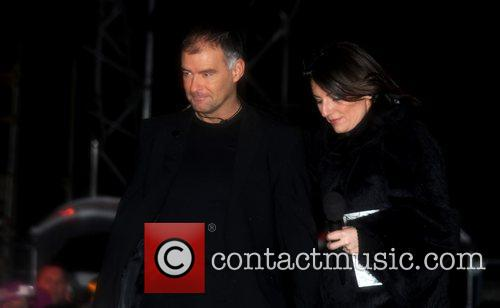 Tommy Sheridan and Davina Mccall
