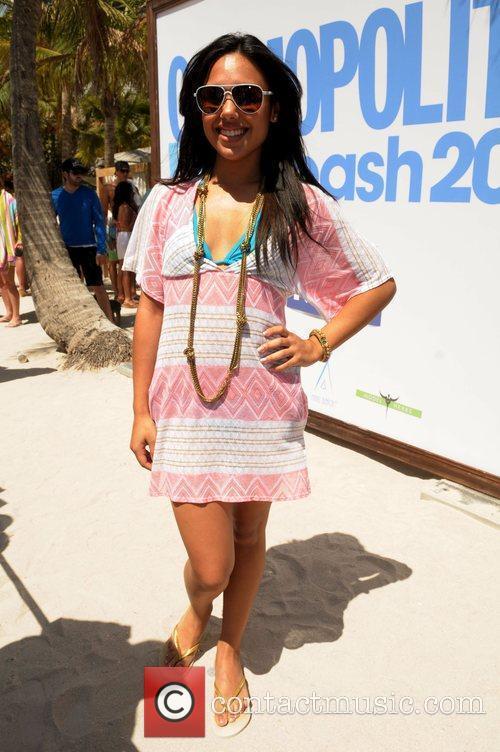 Kristinia Debarge at Cosmopolitan Magazine's Second Annual Bikini...