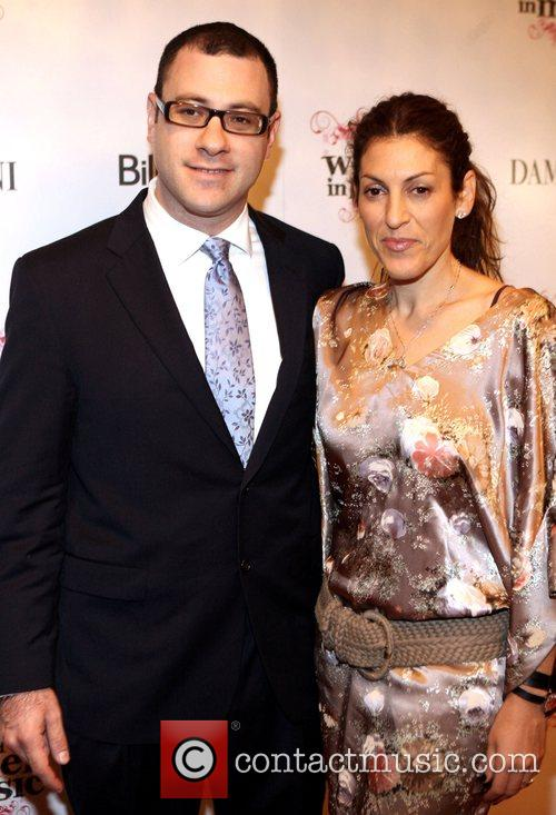 Bill Werde and Julia Greenberg attend Billboard's 3rd...