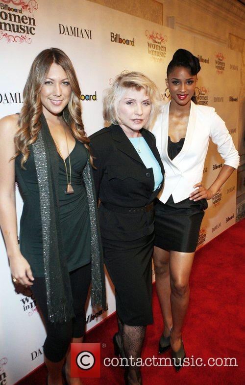 Colbie Caillat, Debbie Harry, and Ciara attend Billboard's...