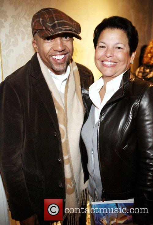 Kevin Lyles and Debra Lee attend Billboard's 3rd...