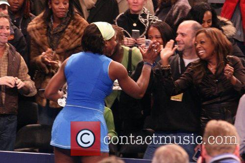 Serena Williams, Star Jones and Madison Square Garden 7