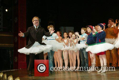 Elton John and Billy Elliot Cast Opening Night...
