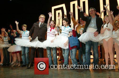 Elton John, Lee Hall and Billy Elliot Cast...