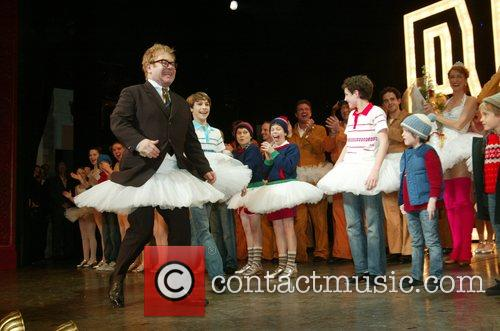 Opening Night Curtain Call of 'Billy Elliot The...