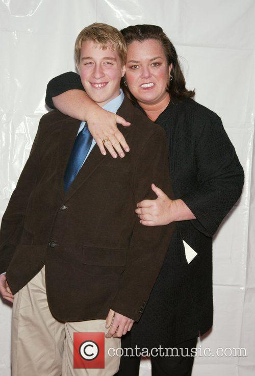Parker O'Donnell and his mom Rosie O'Donnell Opening...