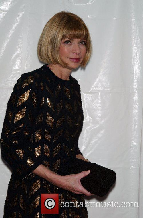 Anna Wintour Opening Night of 'Billy Elliot The...