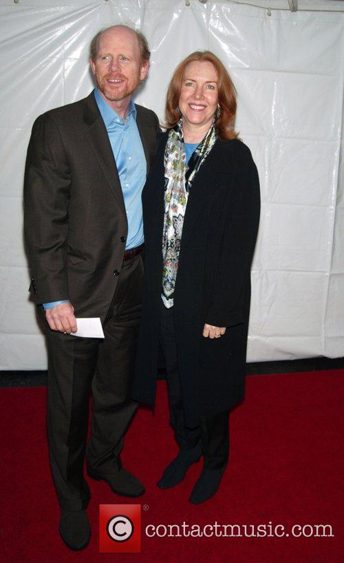 Ron Howard and his wife Cheryl Howard Opening...