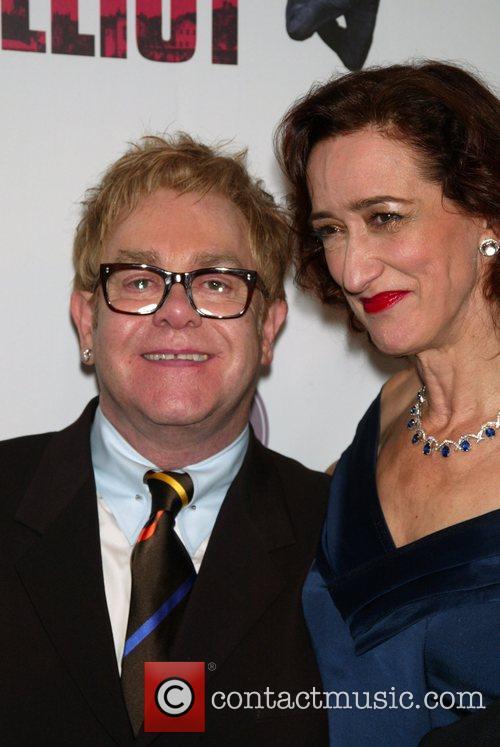 Elton John, Haydn Gwynne Opening Night After Party...