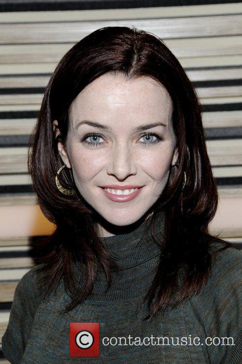 Annie Wersching arrives at the Billy Joel performance...