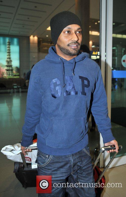 Choreographer Akram Khan arrives at Incheon International Airport...
