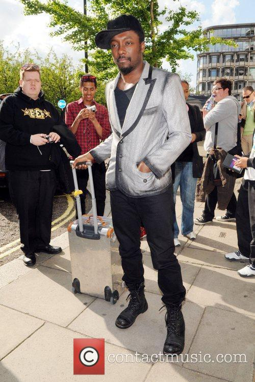 Seen arriving at his hotel in central London.
