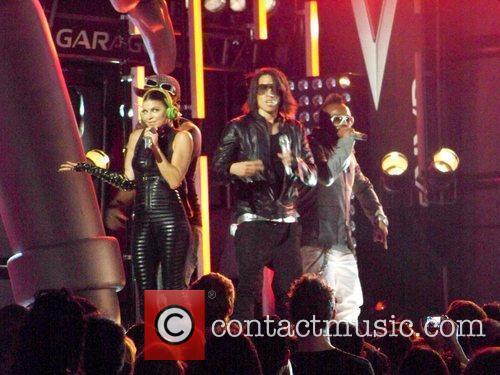 Black Eyed Peas perform at El Capitan Theatre