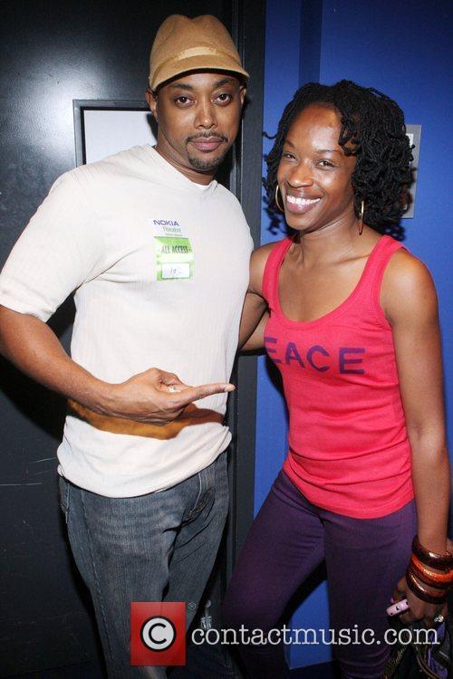 Balawa Mason and Keita Peton at The Black...