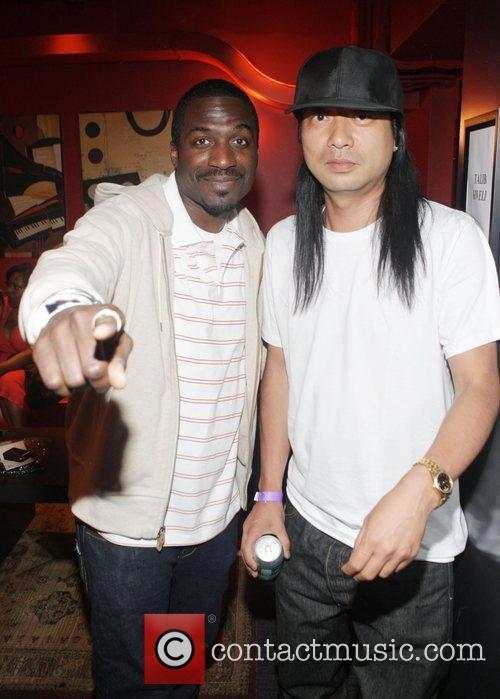 Corey Smyth and DJ Honda at The Black...