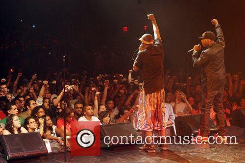 Mos Def and Talib Kweli at The Black...