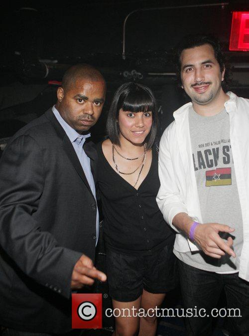 Talib Kweli and Mos Def at The Black...