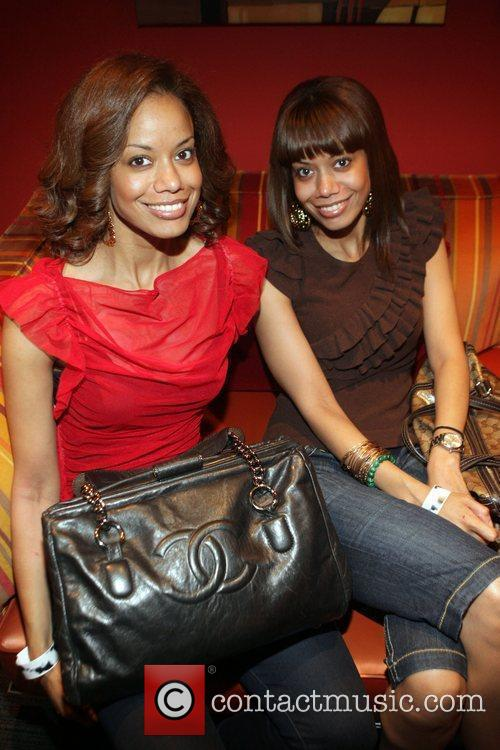 Tricia Clark-Stone and Antoinette Clark at The Black...