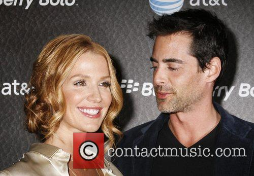 Poppy Montgomery and guest US. Launch Party for...