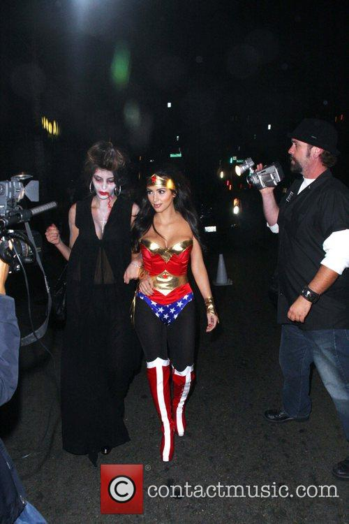 Kim Kardashian Outside the US. Launch Party for...