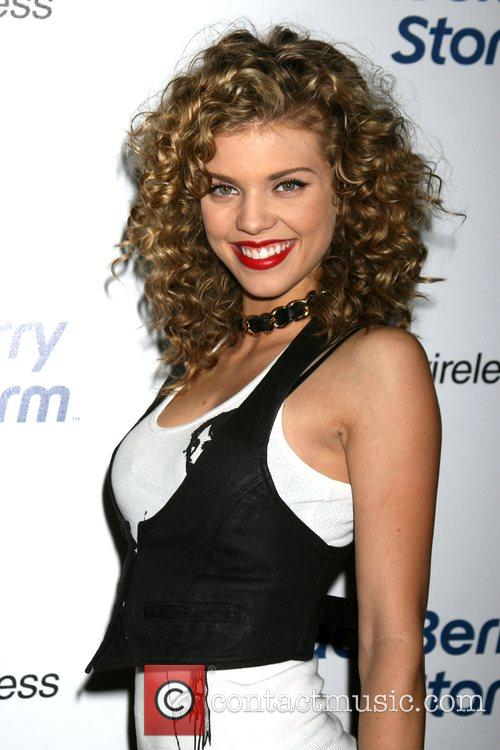 AnnaLynne McCord  The Blackberry Storm launch at...