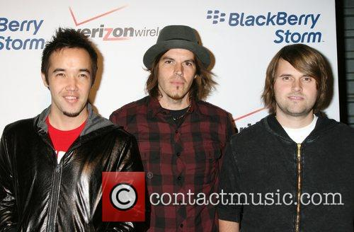 Hoobastank The Blackberry Storm launch at Avalon in...
