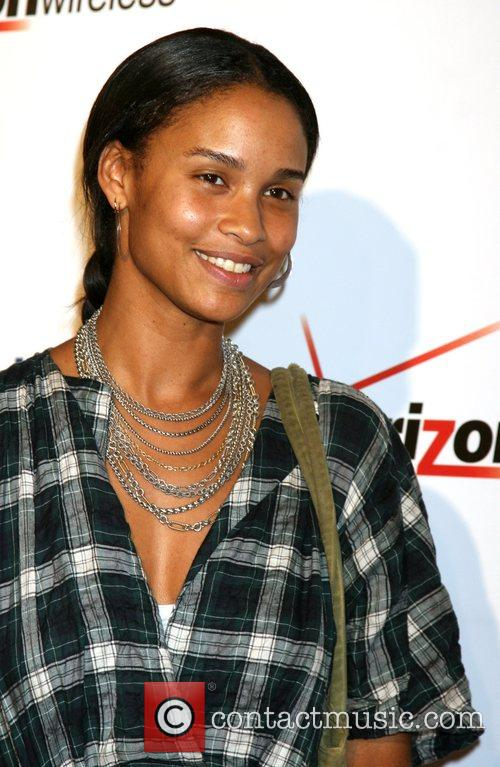 Joy Bryant  The Blackberry Storm launch at...