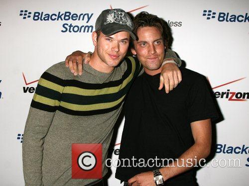 Kellan Lutz and Derek  The Blackberry Storm...