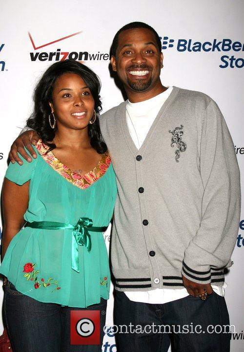 Mike Epps and guest The Blackberry Storm launch...