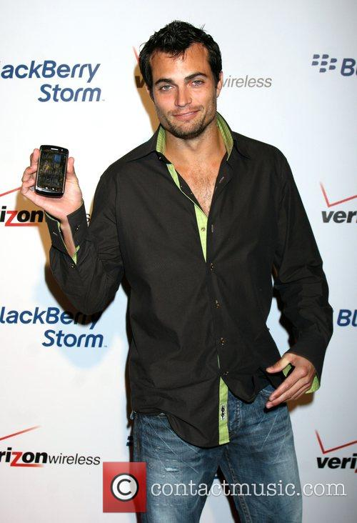 Scott Elrod  The Blackberry Storm launch at...