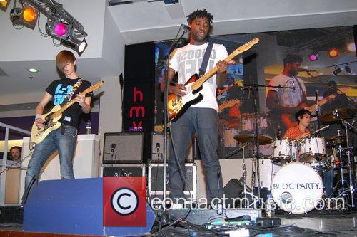 Performing live at HMV on Oxford Street