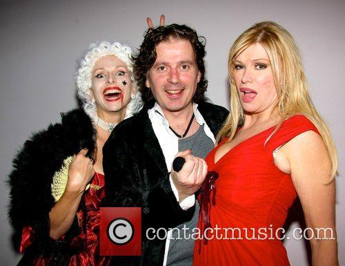 Anneka Svenska, Guest and Cindy Jackson