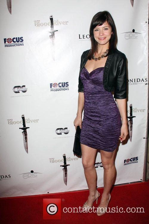 Maria Zyriamova The Los Angeles Premiere of 'Blood...