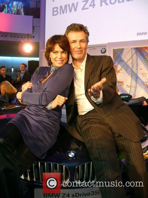 Gerit Kling, Timothy Peach Premiere BMW Z4 Roadster...