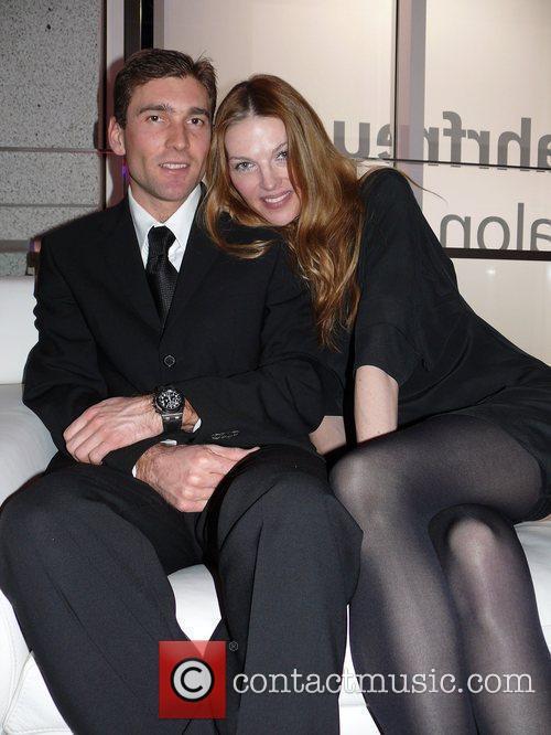 Paulina Nemcova, boyfriend Milan Premiere BMW Z4 Roadster...