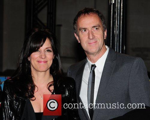 Lise Mayer and Angus Deayton