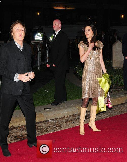 Sir Paul Mccartney and Nancy Shevell 1