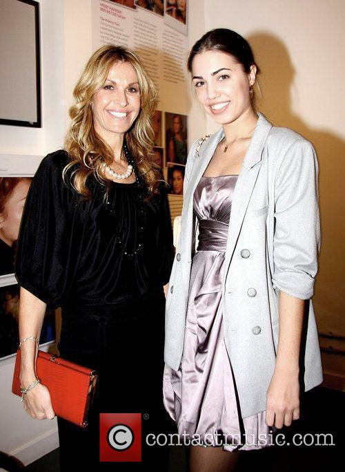 Melissa Odabash and Amber le Bon The launch...