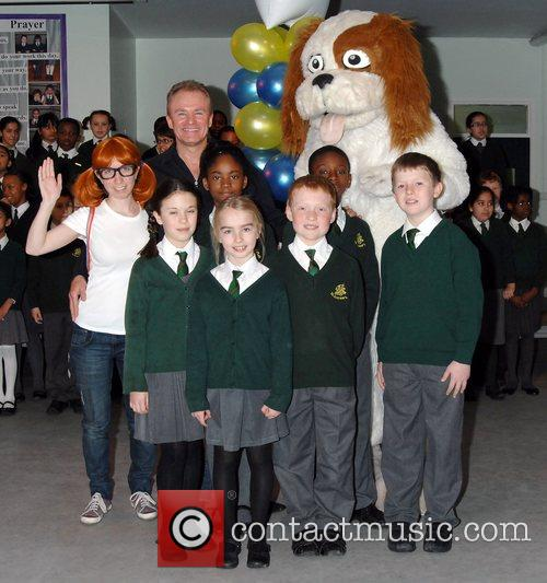 Bobby Davro Bobby and The Dots photocall in...