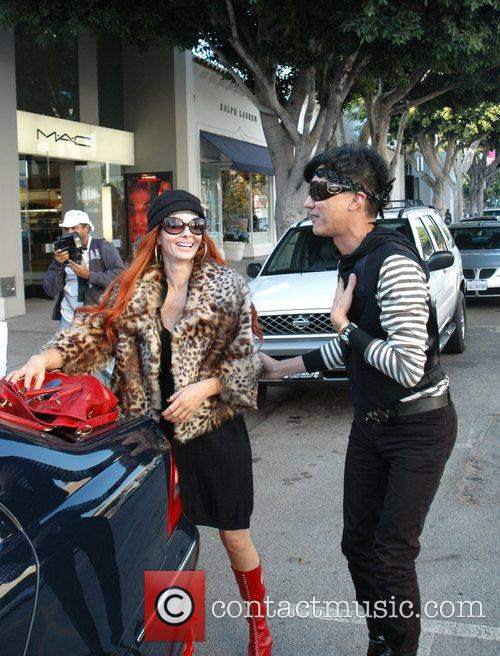 Phoebe shows celebrity interior designer, Bobby Trendy one...