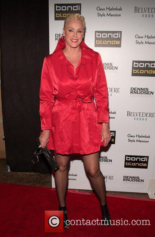 Brigitte Nielsen Bondi Blonde's party hosted by Katy...