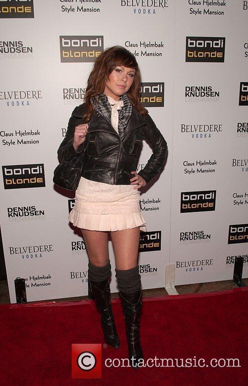 Brittany Flickinger Bondi Blonde's party hosted by Katy...
