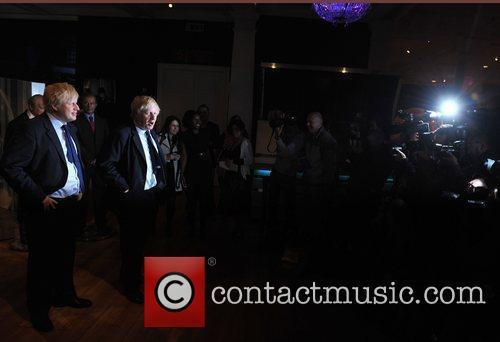 Mayor Boris Johnson at the unveiling of his...