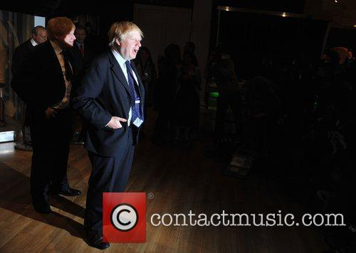 Boris Johnson - waxwork unveiling held at Madame...