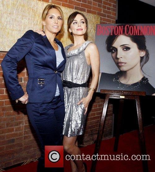 Tiffany Ortiz and Eliza Dushku attends the Boston...