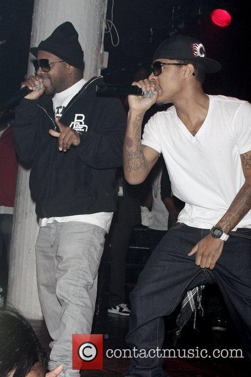 Jermaine Dupree and Bow Wow MySpace and Power...