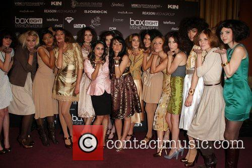 Jazmine Whitley, Aimee Teegarden and Li Cari Models...