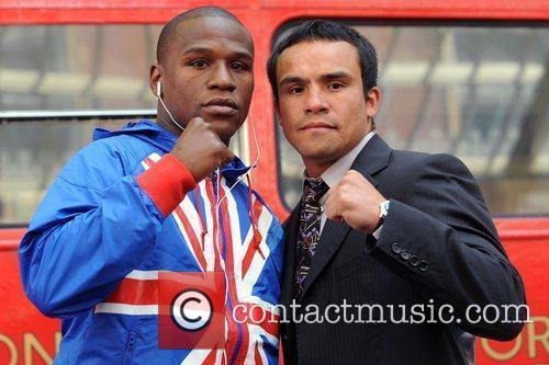 Floyd Mayweather Jr. and Juan Manuel Marquez 9